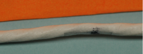 Minimal cable sheath damage as a result of compression clamp application on a MIL-STD-1553B databus stub cable