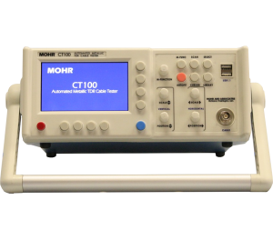 CT100 Automated Metallic Time Domain Reflectometer (TDR) Cable Tester